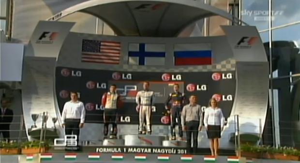 podio GP3 Hungaroring