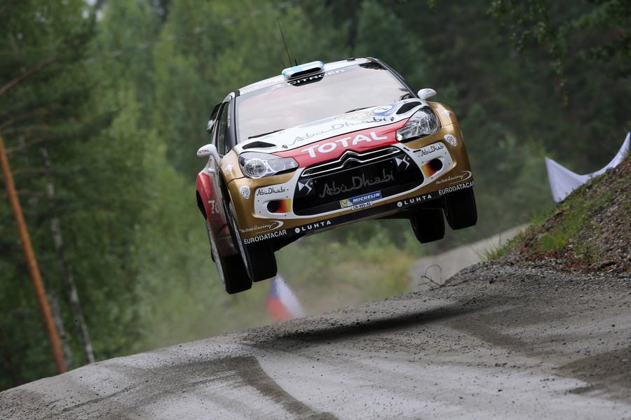 AUTO - WRC FINLAND RALLY 2013