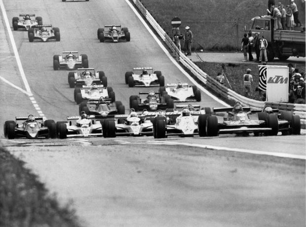 Inicio del Gran Premio de Sudáfrica de 1979