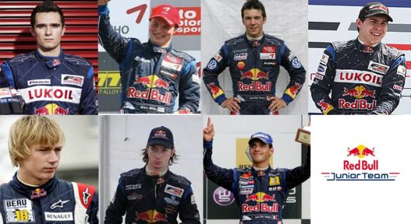 Aleshin, Mäki, Vernay, Wickens, Hartley, Bortlotti, Vergne, Alguersuari y Buemi ... los rivales a los que superó Ricciardo para llegar hasta Red Bull