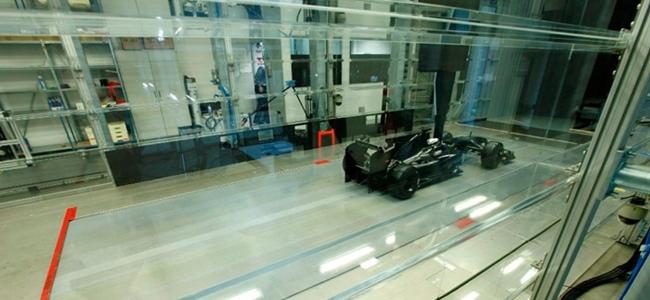 Túnel de viento de Toyota. Imagen: formulaf1.es