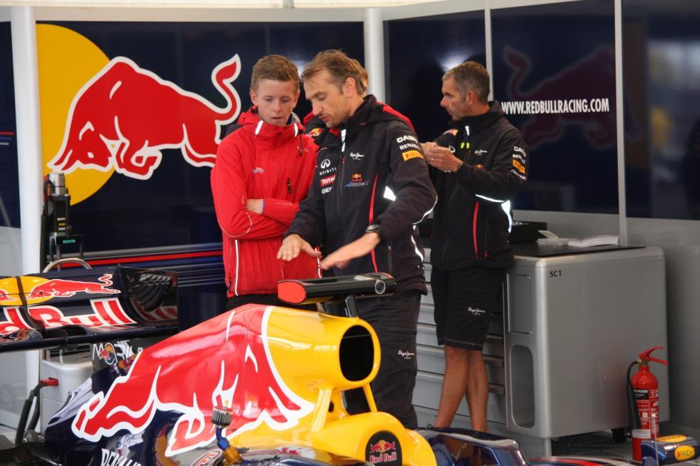 Dennis Olsen desde joven trabajó cerca de los ingenieros de Red Bull (c) moss-avis.no