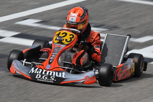 Gasly gaó numeros trofeos en karting.