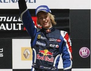 Brendon Hartley fue el campeón de la Formula Renault 2.0 Eurocup de la mano de Epsilon Red Bull en 2007.
