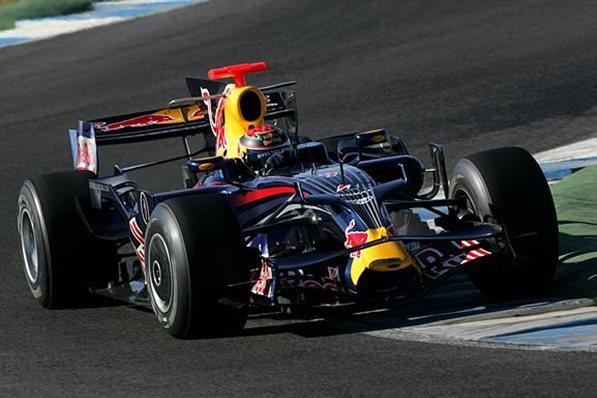 Brendon Hartley pilotando el RB4. (c) f1.com