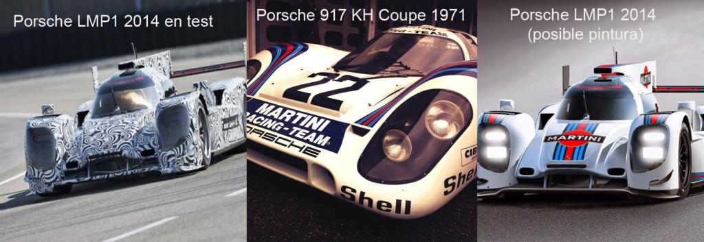 Porsche LMP1 2014