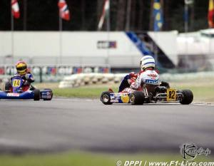 Alonso vs Balzan European karting 1997