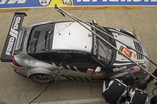 Este es el Porsche de Dempsey-Del Piero Racing, equipo del actor y del futbolista en GTE Am (c) Porsche