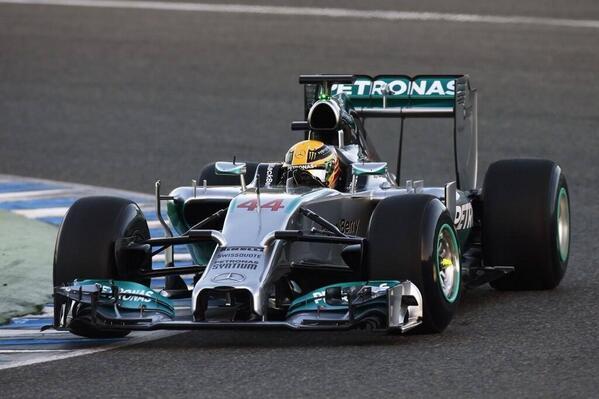 Hamilton W04 debut