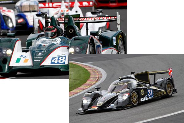 Diferencias entre los LMP2 de Murphy (arriba) y Lotus (abajo)