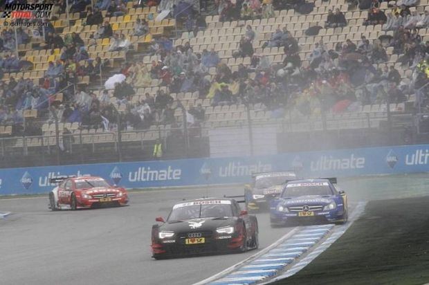 'Edo' Morta en 2012 fue el único Audi en ganar una carrera, pero en 2013 no le fue tan bien (c) xpimages