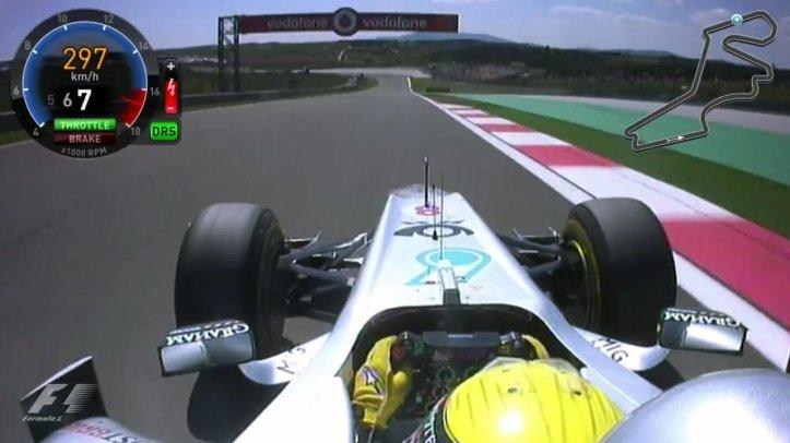 Nico Rosberg ONboard F1