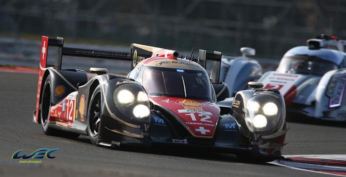 El Rebellion Racing rodando en las 6H de Silverstone (c) WEC