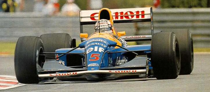 """""""Red 5"""" de Nigel Mansell"""
