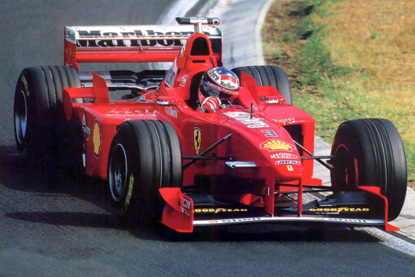 "Michael Schumacher, el rey del ""3"""