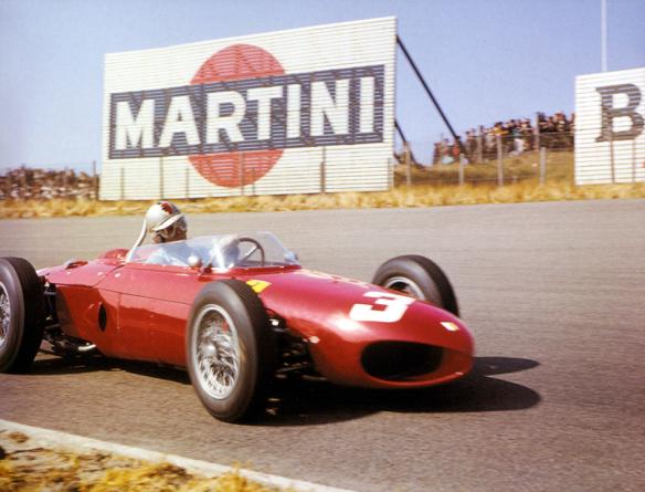 """Von Trips primer ganador con el número """"3"""" en el GP Países Bajos 1961"""