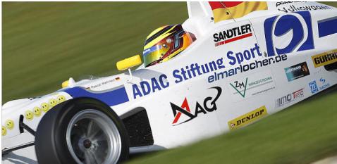 Wehrlein impresionó en karts y se gano una beca de ADAC Stiftung (c) Formel Masters