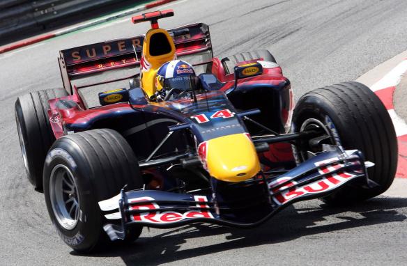 """El que más veces utilizó el """"14"""", David Coulthard"""