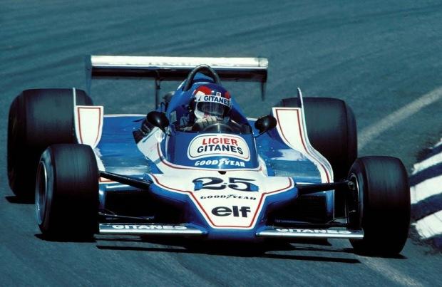 """El primer ganador con el """"25"""", Patrick Depailler"""