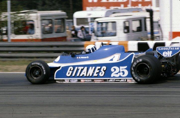 """El otro ganador con el """"25"""", Didier Pironi"""