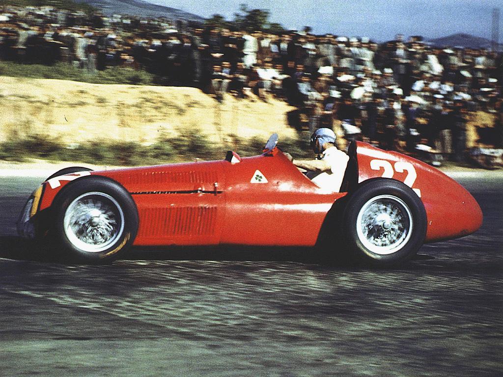 """Juan Manuel Fangio, primer ganador con el """"22"""""""