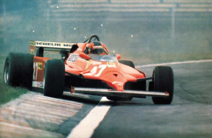 """Gilles, Ferrari y el """"27"""", mito y símbolo de la F1."""