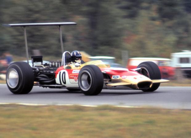 """Uno de los campeones mundiales con el """"10"""", Graham Hill"""