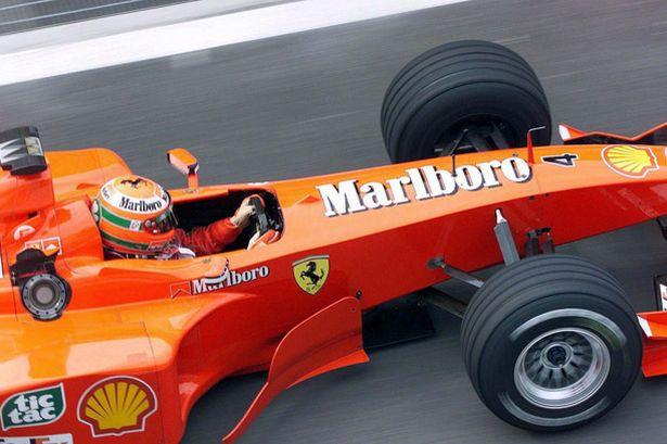 """Uno de los más ganadores con el """"4"""", Eddie Irvine"""