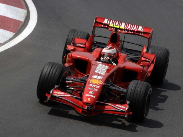 """El más ganador con el """"6"""", Kimi Raikkonen"""