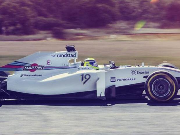 """Felipe Massa y su Williams """"19"""""""