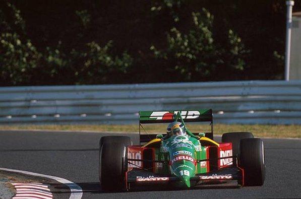 """Primer ganador con el """"19"""", Alessandro Nannini"""