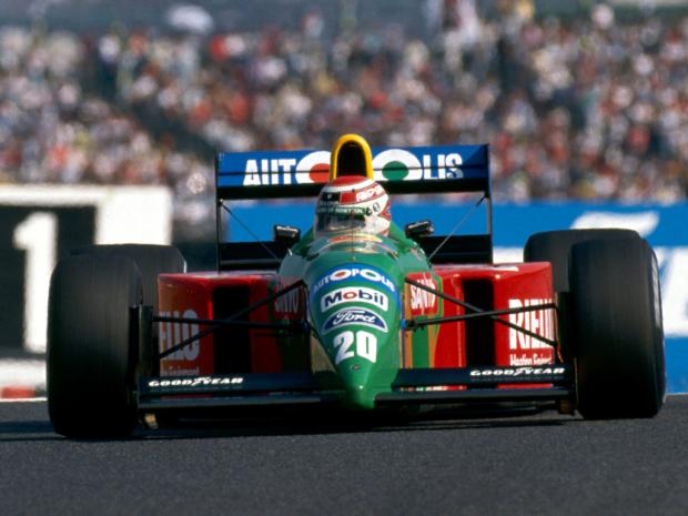 Uno de los máximos ganadores, Nelson Piquet.