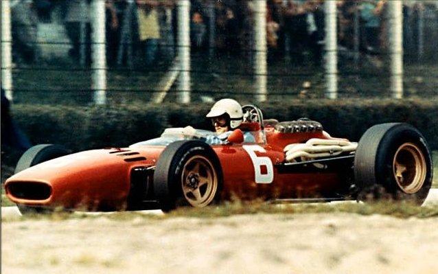 """Scarfioti, ganador en la Ferrari """"6"""" en Italia 1966"""