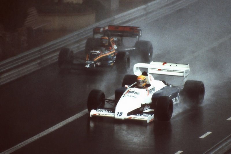 """Senna y el """"19"""" en aquél inolvidable Mónaco 1984"""