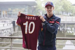 Kvyat AS Roma Totti