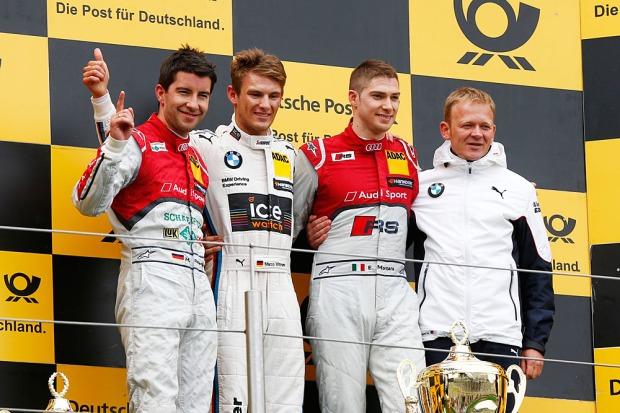 podio nurburgring 2014