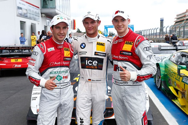 Podio Qualy DTM Nurburgring
