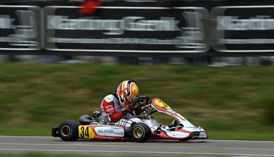 Charles Leclerc karting