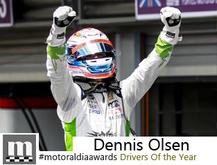 Dennis Olsen motoraldia awards