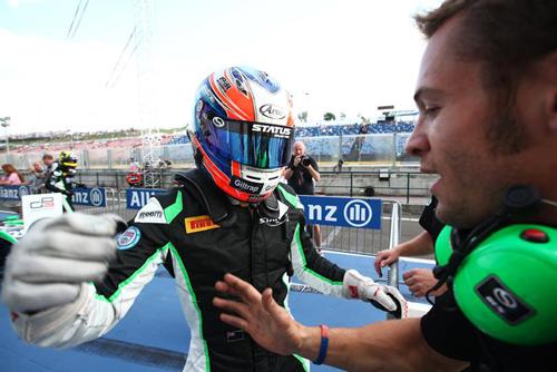 Stanaway peleó con Alex Lynn el título de la GP3 con Status GP  (c) GP3 Media