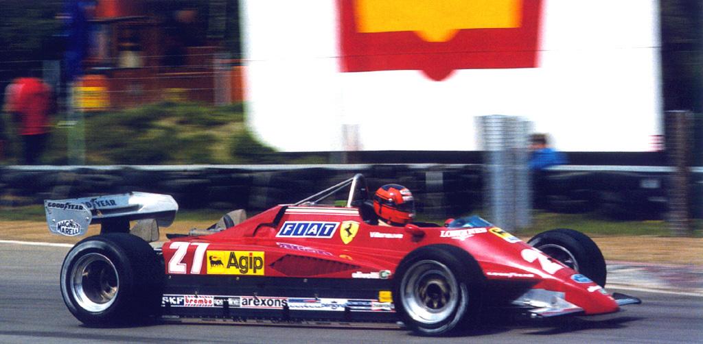 1982 belgian gp practice - gilles villeneuve (ferrari 126c2)