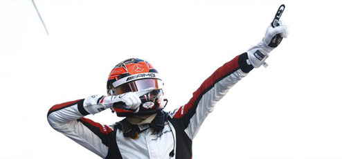 Esteban Ocon wins, most voted as best young driver of 2015