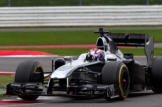 George Russell F1 Silverstone 2015