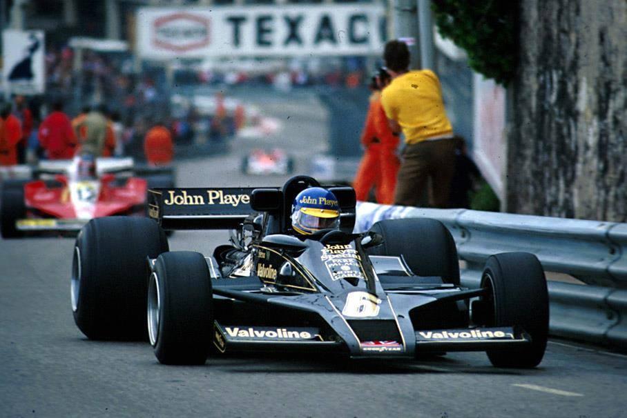 1978 monaco Ronnie Peterson