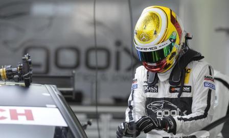 Pascal Wehrlein helmet